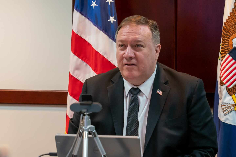 Mike Pompeo, secretario de Estado de los Estados Unidos.