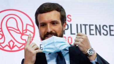 """Casado celebra el acuerdo en Europa aunque avisa que es """"una enmienda"""" al pacto de Gobierno"""
