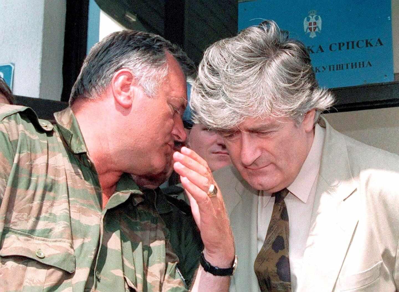 Ratko Mladic-Radovan Karadzic