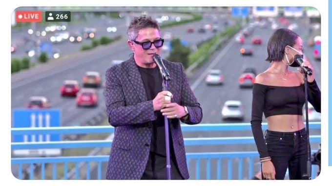 Alejandro Sanz: concierto sorpresa en la M-30