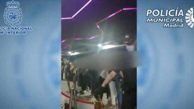 Clausurado un 'after' en Madrid con 5 detenidos y 95 personas en su interior bailando sin mascarillas