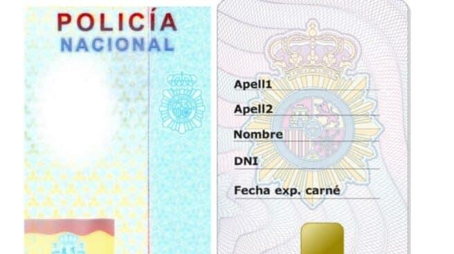 Carné de 'policía honorario' que el ministro del Interior podrá entregar a los ciudadanos.