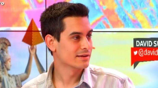 El humorista David Suárez.