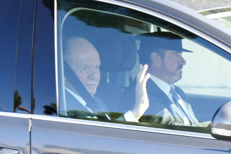 Juan Carlos abandona España