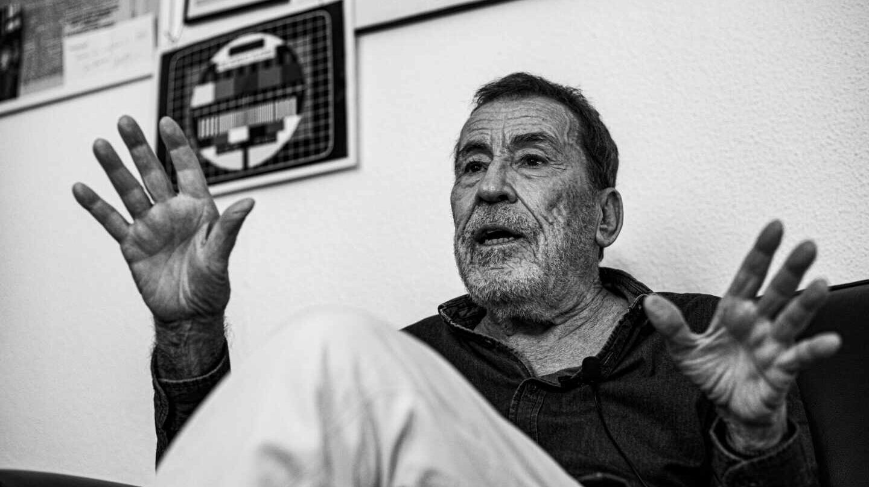 Fernando Sánchez Dragó durante la entrevista con El Independiente