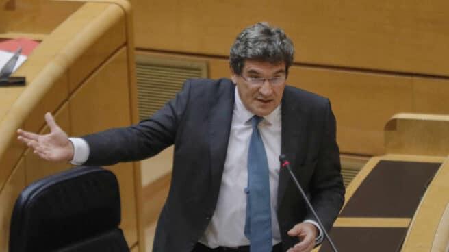 Imagen del Ministro de Inclusión, Seguridad Social y Migraciones, José Luis Escrivá