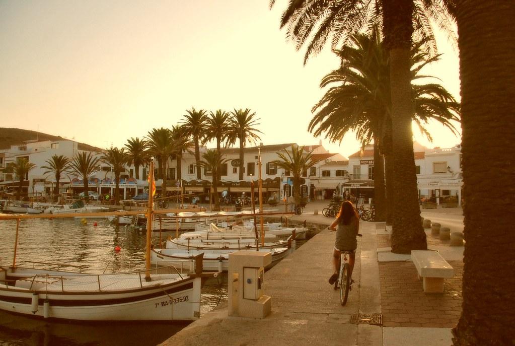 Imagen de la localidad de Fornells (Menorca)
