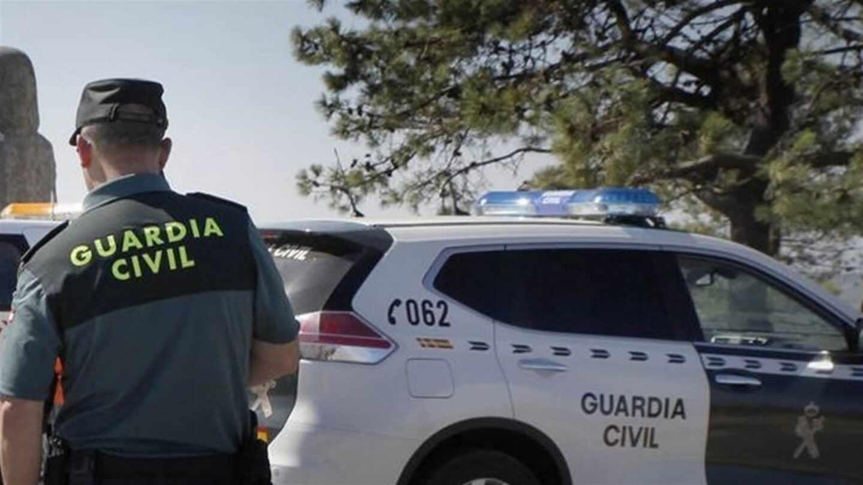 Un guardia civil, durante un servicio.