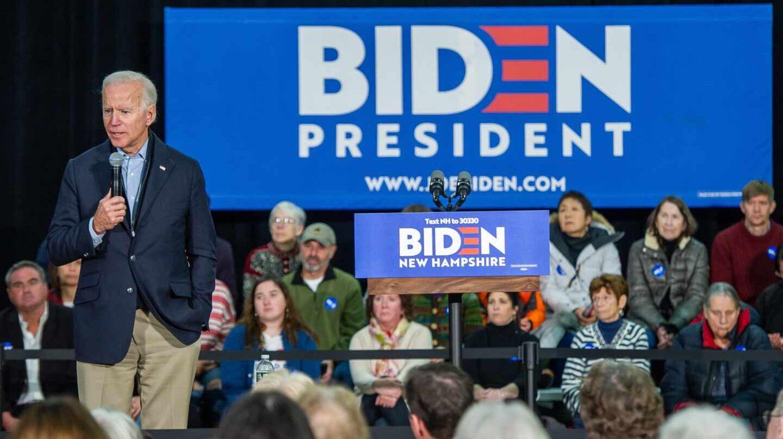 Joe Biden elecciones 2020 mitin