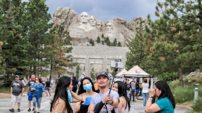 4 de julio Monte Rushmore
