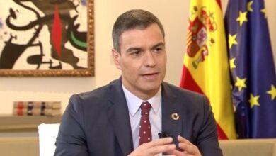 """Sánchez se aleja de Podemos: """"El impuesto a grandes fortunas es un fetiche"""""""