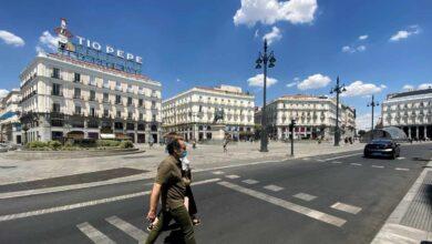 Madrid reconoce 500 contagios el fin de semana, la mayoría entre menores de 40 años