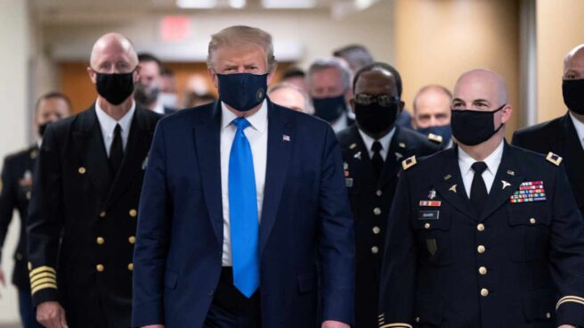 Trump mascarilla