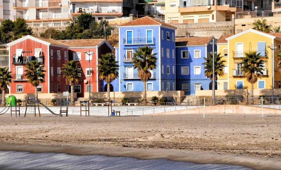 Imagen de la localidad de Villajoyosa (Alicante)