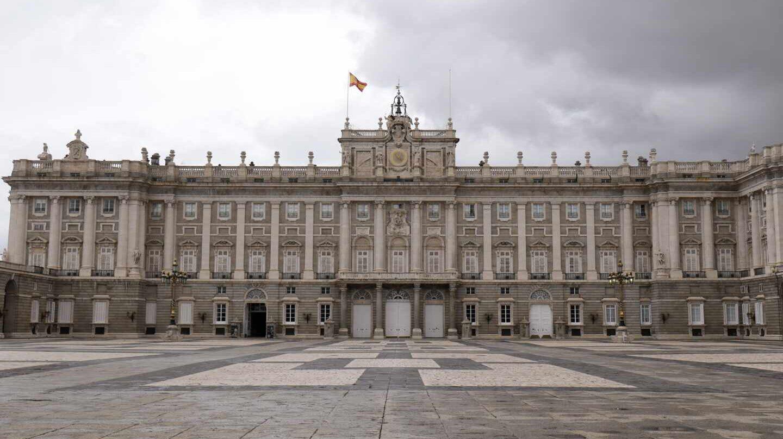 Patio de la Armería del Palacio Real, donde tendrá lugar el homenaje