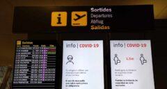 Las aerolíneas aplican un recorte masivo de vuelos a España en plena ola de contagios
