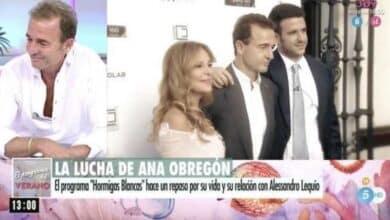 Alessandro Lequio se rompe en directo al recordar a su hijo y Ana Obregón