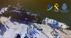 Interceptado un yate con 4,3 toneladas de hachís en Alicante