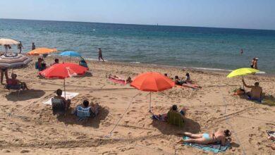 Benidorm suprime desde este sábado la parcelación de las playas