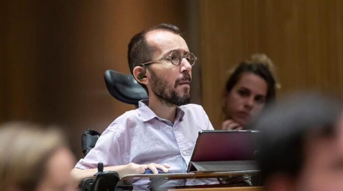 """Echenique afirma que la mayoría de """"maltratadores"""" y """"abusadores sexuales"""" votan a partidos de derechas"""