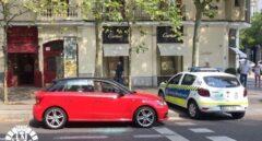 Rescatan a un bebé del interior de un coche en Madrid a 37 grados