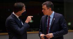 Merkel, Macron, Conte y Sánchez se ven con el primer ministro holandés para intentar desbloquear la cumbre