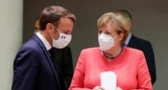"""""""Esta es la respuesta de la Europa unida"""", se felicita Angela Merkel"""