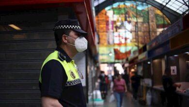 Detenido en Málaga un individuo por agredir a un agente tras negarse a ponerse la mascarilla