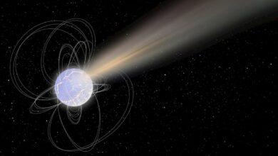 Una estrella muerta emite una mezcla de radiación inédita