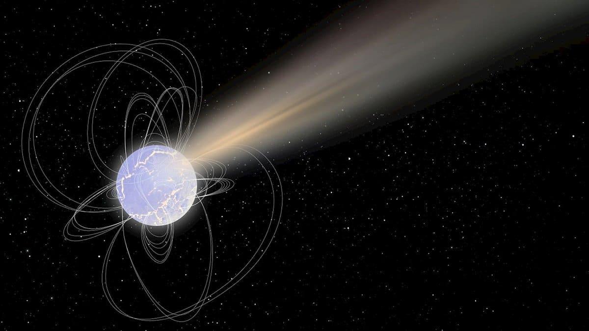 Una estrella muerta emite una mezcla de radiación inédita - El ...