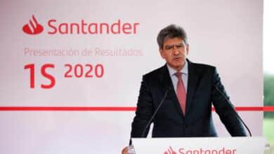 Santander pagará un dividendo de 0,1 euros en efectivo en 2021 si el BCE se lo permite