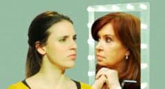 Por qué Irene Montero quiere ser como Cristina Fernández de Kirchner