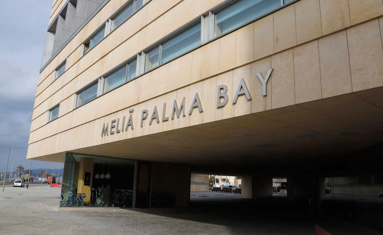 Meliá Palma Bay, uno de los hoteles que la cadena tiene operativos ya en Mallorca.