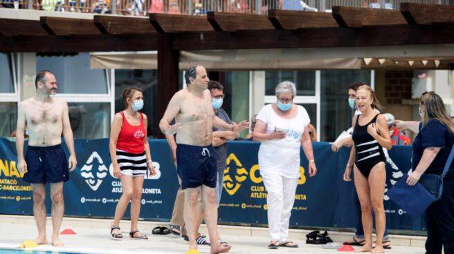 Quim Torra, en un acto contra la esclerosis múltiple en Barcelona.