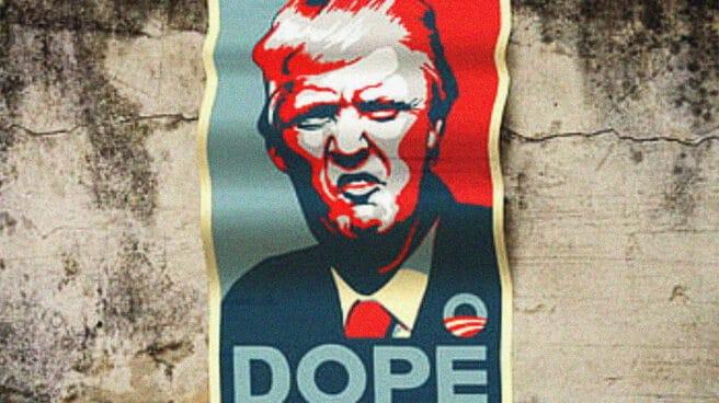 Donald Trump-póster-Obama