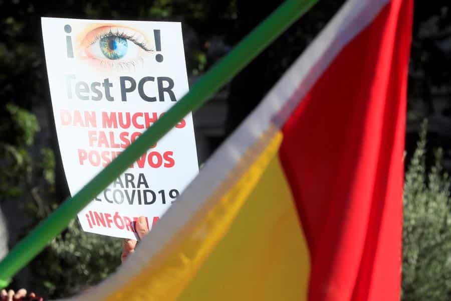 El Gobierno de Ayuso considera una temeridad que se autorizase la manifestación de Colón
