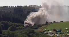 Mueren tres personas por el descarrilamiento de un tren de pasajeros en Escocia