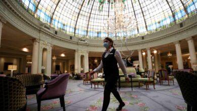 El hotel Palace recupera la vida