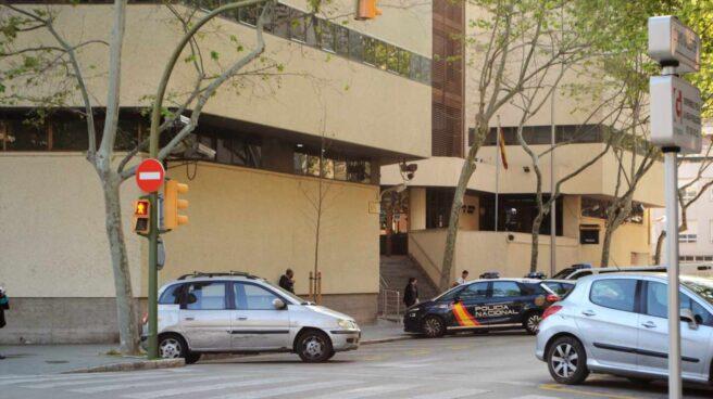 Jefatura de la Policía Nacional en Palma, en la calle Simó Ballester.