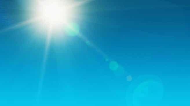 Rayos de sol.