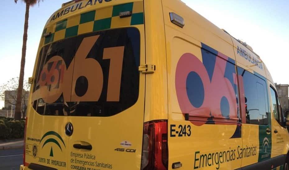 Un vehículo de Emergencias del '061'.