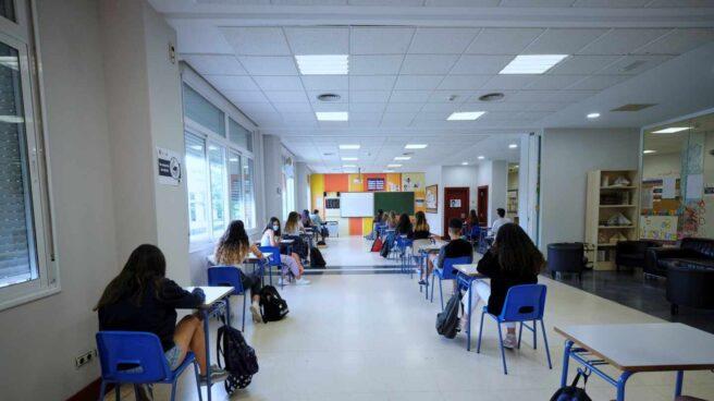 Alumnos de 2º de Bachillerato del Colegio Alameda de Osuna.