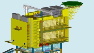 ACS se adjudica una plataforma de conversión eléctrica en el Mar del Norte