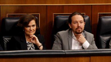 """Podemos culpa a Calvo de consagrar """"dos gobiernos en uno"""" en la cita con Cs"""