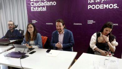 Sectores críticos de Podemos se plantean enfrentarse a la cúpula en los tribunales