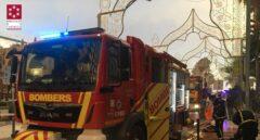 Desalojadas 160 personas por un incendio en un balneario de Orpesa (Castellón)