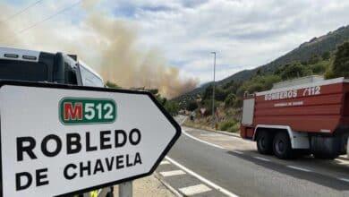 Madrid pide ayuda del Ejército por un incendio en Robledo de Chavela