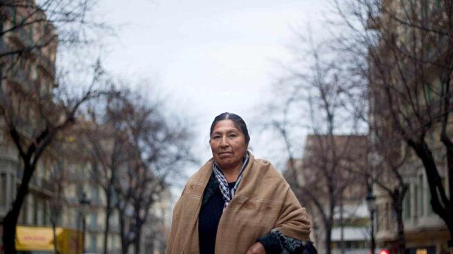 Evo Morales hermana