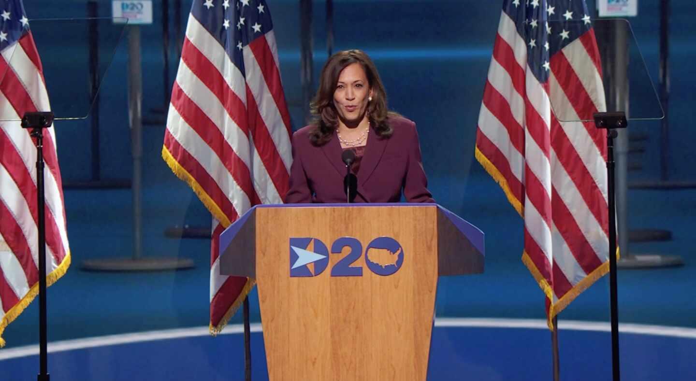 Kamala Harris Convención Demócrata 2020