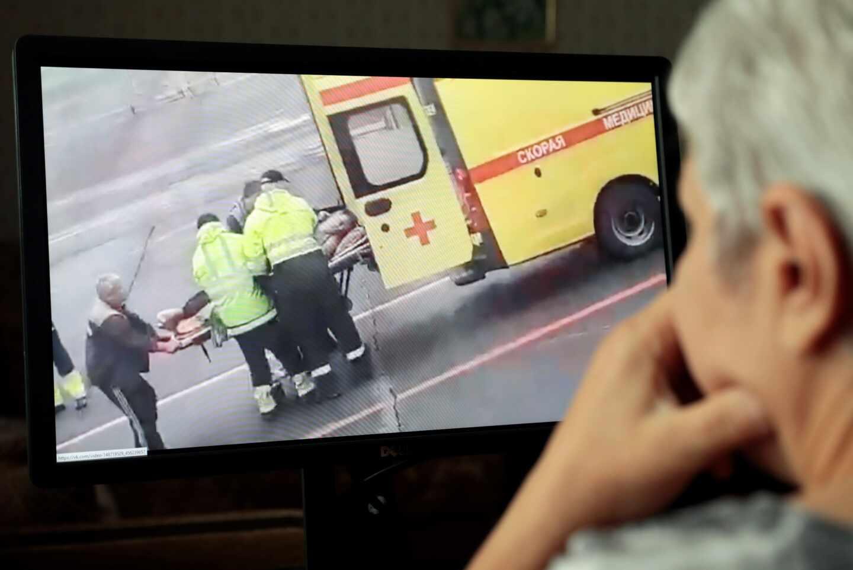 Navalny traslado hospital